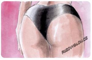 latexové kalhotky
