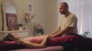 žena absolvuje vaginální mapování