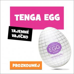Masturbační vajíčko Tenga Egg