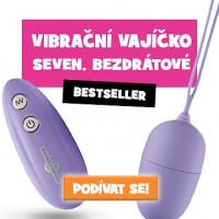 Vibrační vajíčko Seven