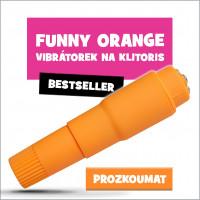 minivibrátor Funny Orange