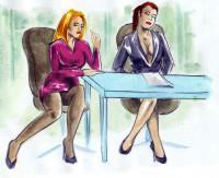 ženy v kanceláři