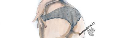 Sexy zadeček v kalhotkách