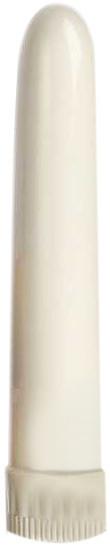 Vibrátor plast bílý 19*3 cm