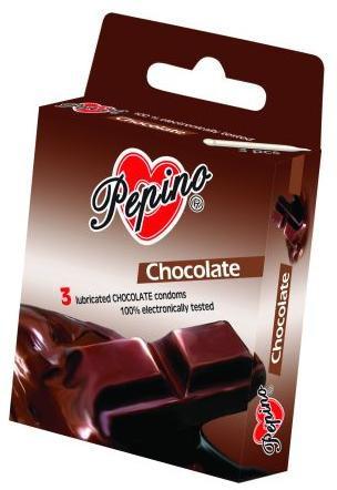 Pepino čokoládové - 3ks kondomy