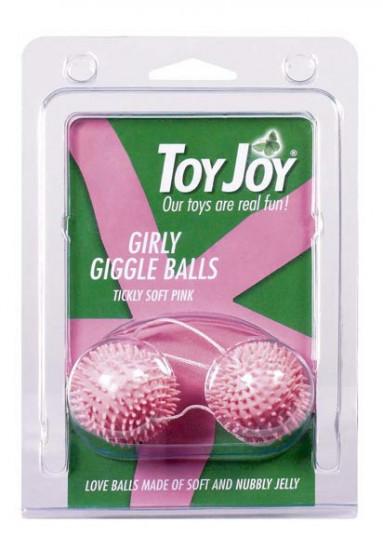 """Kuličky měkké ježek \""""vyblitá růžová\"""""""