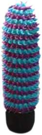 Vibrátor kaktus modrý 13*3 cm