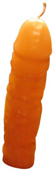Žert. svíčka penis vosk 18 cm
