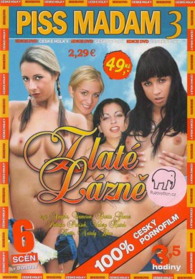 DVD Piss Madam 3 - Zlaté lázně