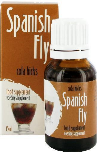 Španělské mušky 15ml - Cola