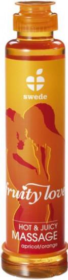 Masážní olej Swede meruňka/pomeranč 200ml
