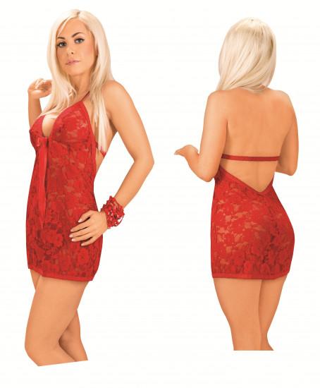 Košilka Veronika červená + tanga