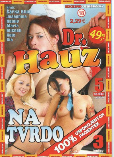 DVD Dr. Hauz: Na tvrdo - obal.