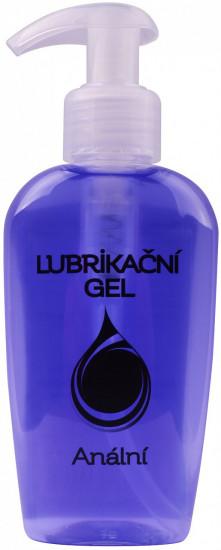 Anální lubrikační gel 130 ml s pumpičkou.