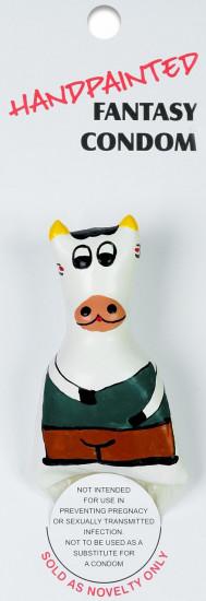 ERCO žertovný kondom COW
