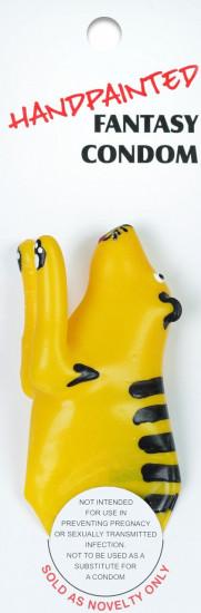 ERCO žertovný kondom TIGER