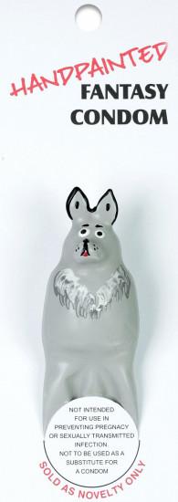 ERCO žertovný kondom WOLF