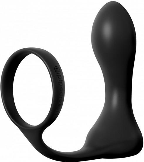 Anální kolík s vibrací Dark Fantasy
