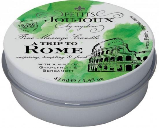Masážní svíčka To Rome With Love