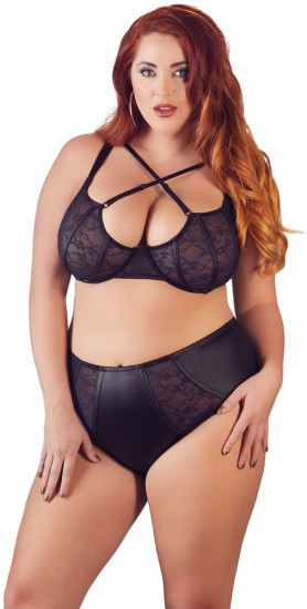 Plus size komplet Midnight Cross