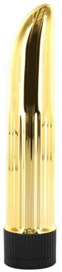 Plastový vibrátor Gold Finger