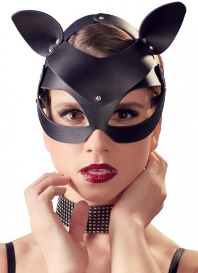 Maska s kamínky Sexy Cat