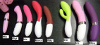luxusní vibrátor Lelo IRIS - růžový
