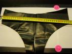 Latexové kalhotky půlené S-L