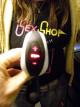 Vibrátor Delight Click 'n Charge - černobílý