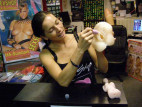 Vibrátorek na klitoris Funny Pink!