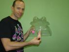 Vibrátor LoveClone s výstupky 16 cm
