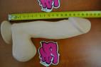 Dildo s přísavkou natural 19 cm