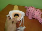 Připínací penis pro muže dutý
