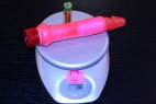 Vibrátor gelový anální 17 * 2.5 cm