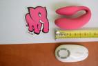 We-Vibe 4 Plus růžový - rozměry