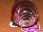 Dildo skleněné GlassWork  22 cm, Oblouk