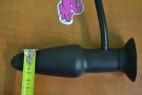 Anální kolík nafukovací s vibrací a přísavkou rozměry
