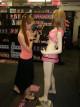 Průhledný komplet Pink se sukýnkou