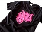 Tričko pánské Růžový slon