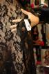 Šaty Gejša černé + maska