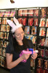 Dominika a kroužek Silicone Rabbit (starý model)