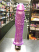 Vibrátor  Pearl tvrdý fialový 25 cm