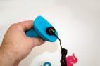 Anální rotační kolík Rimming b-Vibe – nabíjení