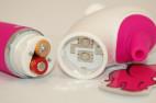 Vibrátor H2O Drop Pink | vodní tryska