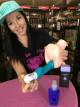 Dominika zkouší anální gel s pumpičkou