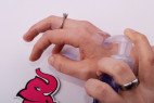 Anální gel na ruce