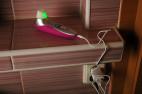 Womanizer PRO40, nabíjíme pomocí USB adaptéru