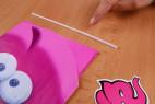 Žertovný balónek ve tvaru penisu – brčko pro nafouknutí