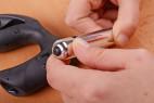 Anální kolík XPander s vibrační patronou, roztahovací