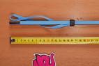 Bičík modrý 60cm – měříme délku rukojeti